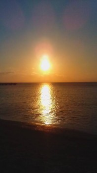 Закат с берега около дома. - IMG_20170329_182458.jpg